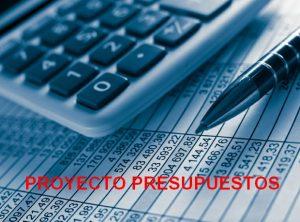 Proyecto presupuestos